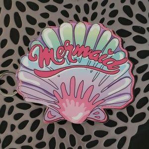 Mermaid wallet coin purse ID holder